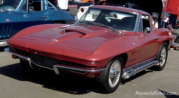 Corvette 1963 Brick Red