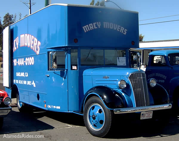 Chevy Moving Van 1937