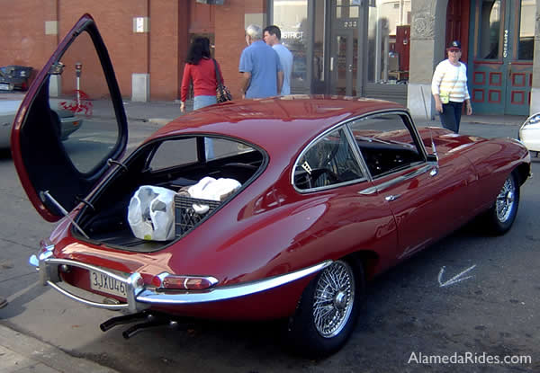 Jaguar E type 1968