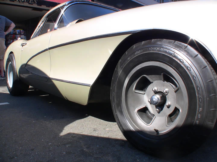 Chevy Corvette 1956-rims